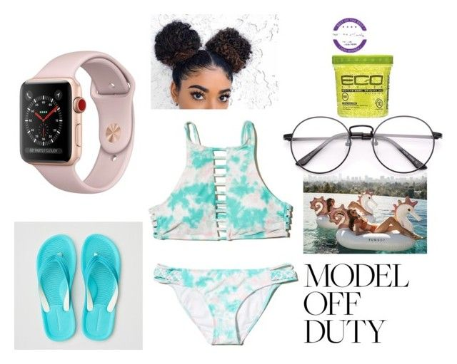 """""""model off duty"""" by thompson8 on Polyvore featuring Hollister Co. and American Eagle Outfitters"""