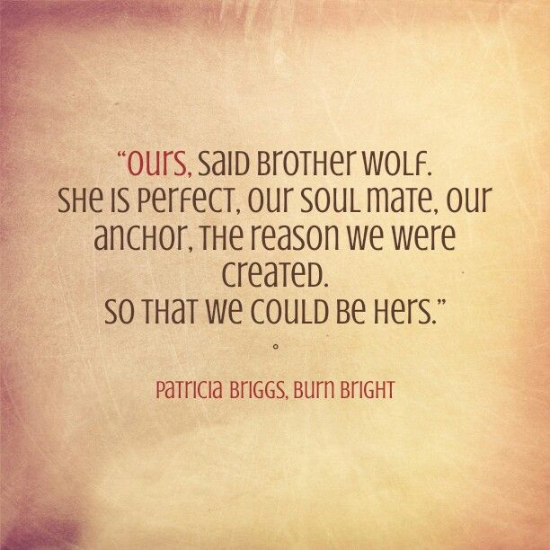 From Burn Bright by Patricia Briggs book 5 Alpha and Omega series | Patricia  briggs, Book quotes, Book characters