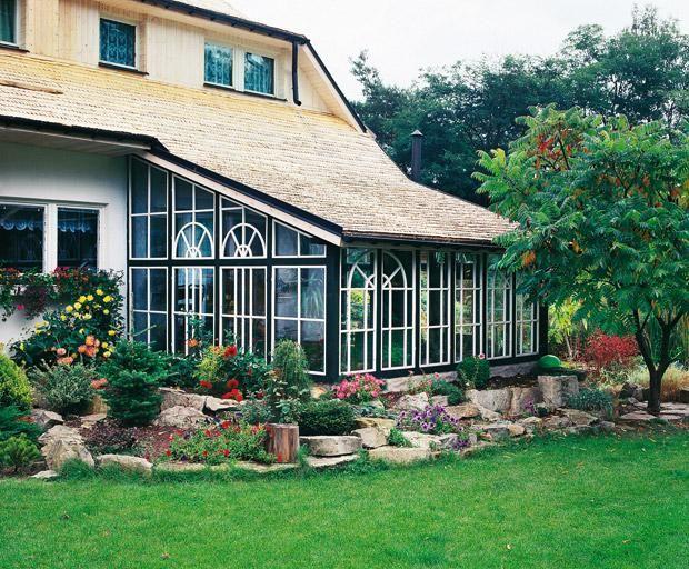 Зимний сад в частном доме: фото, конструкция, отопление, освещение, полив