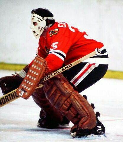 Tony Esposito   Chicago Blackhawks   NHL   Hockey