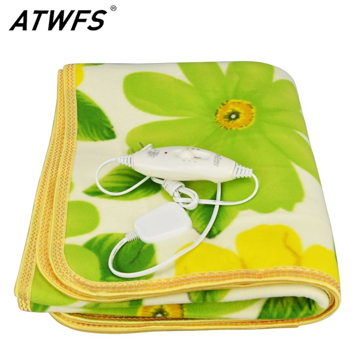 buy atwfs security single bed plush electric heated blanket electric heating blanket bed body warmer #heating #wire