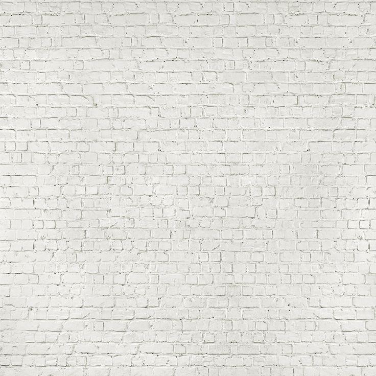white brick wall lobby