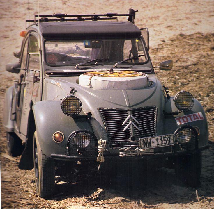 citroen 2cv images | Vespadicto: Citroën 2CV Sahara