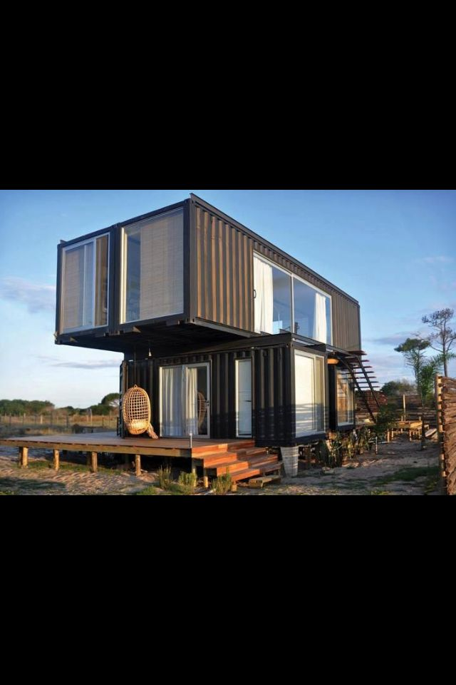 Best Homes Made From Shipping Containers Images On Pinterest - All terrain cabin shipping container homes