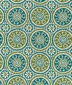 Robert Allen Contract Elegant Suzani Mediterranean Fabric