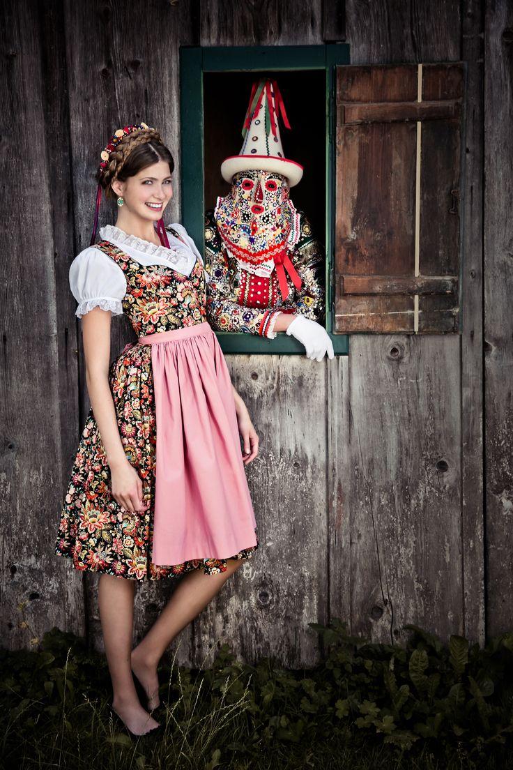 "Lena Hoschek Tradition A/W2014-15  ""Dirndl Else"" und ""Dirndlbluse Feistritz"" www.lenahoschek.com"