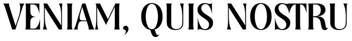 free font- Nashville