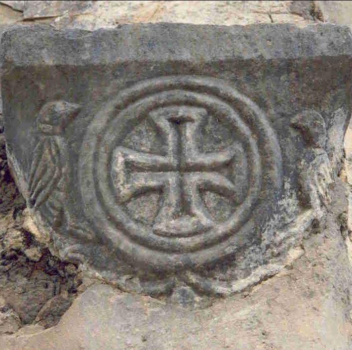 Detail St Nicolas (Sv. Nikola grčki) / Lopud Croatia / The remains of the old Croatian culture / pre-Romanesque chapel 9th - 10th.century #croatia #preromanesque