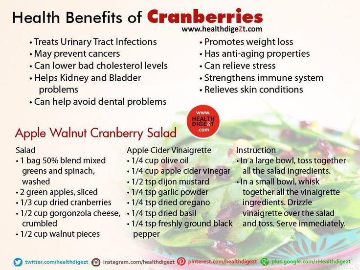 Nature S Bounty Cranberry Benefits