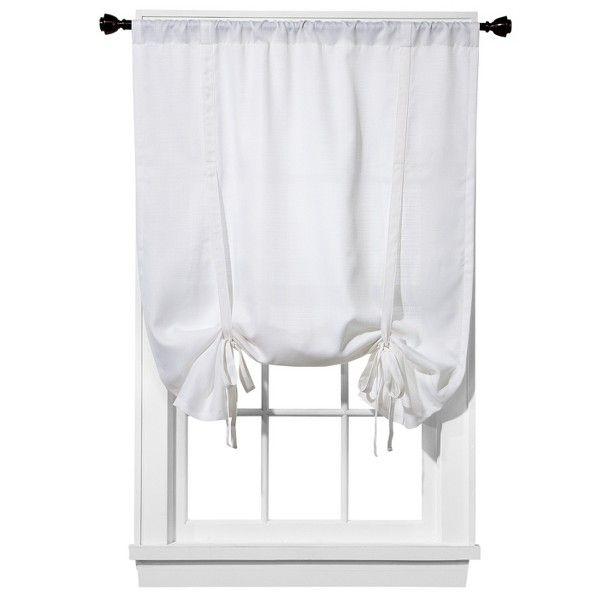 Tie Up Kitchen Curtains: Kitchen Curtains Room Essentials® Chesapeake Tie Up Shade