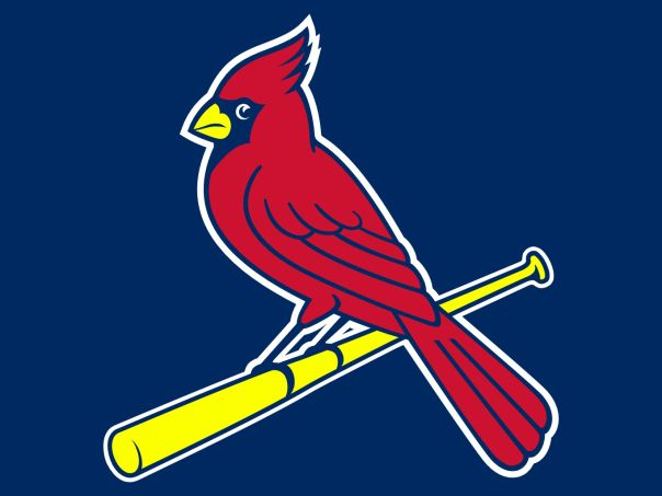 St Louis Cardinals Background Logo Blue Stl Cardinals Baseball Cardinals Baseball St Louis Cardinals