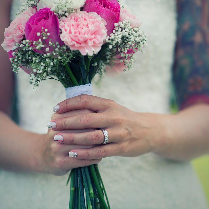 #wedding #flowers #ring #tattoo #sleeve