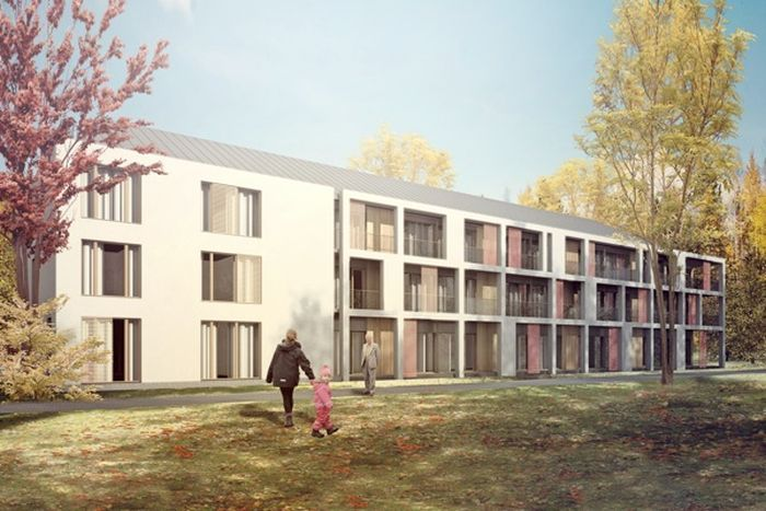 Nursing Home in Otwock, Poland - concept design by Archimed Architecture, rendering