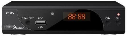 #High #Definition Television (HDTV) TunerThe DT-800 set-top-box receives digital high definition broadcasts for viewing on virtually any television or monitor. Mu...