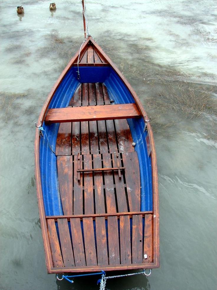 rowboat... Balaton, Hungary