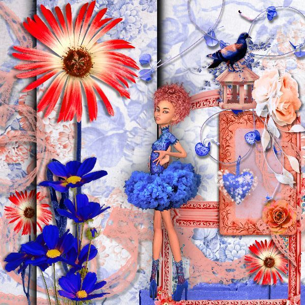 CAMELIA DREAMS by Kastagnette Doll: X-quizart dolls-Midnight blue
