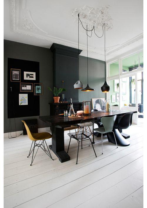 25+ beste idee u00ebn over Herenhuis Interieur op Pinterest   Herenhuizen, Luxe en Luxe woningen