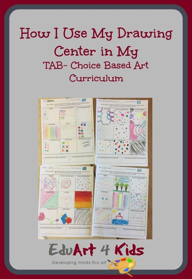 The Various Activities I Sue To Start Off My Drawing Center In A Tab Choice Based Classroom And How Yo Art Lessons Elementary Art Curriculum Elementary Drawing