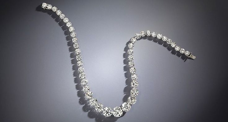 Celsteel @CelsteelDiamond Zsa Zsa Gabor reportedly said she never met a #diamond she didn't like. This Harry Winston diamond Rivière #necklace was one of the many pieces of #luxury #jewellery that belonged to the late actress. It's being offered for sale by Bonhams next month-Twitter