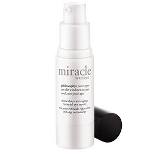Philosophy Miracle Worker Miraculous Anti-Aging Retinoid Eye Repair: Finally, a wrinkle-fighting retinol cream that doesn't burn the fuck out of the skin around my eyes.