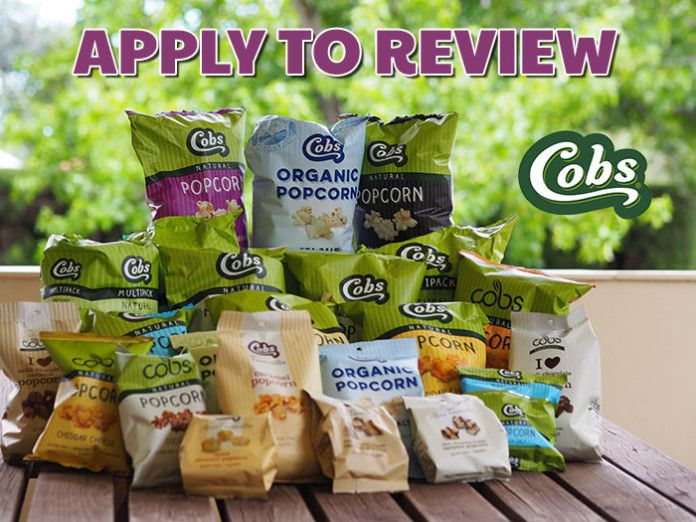I've just applied to trial and review Cobs Premium Popcorn. Apply and you could too! https://wn.nr/8vggH