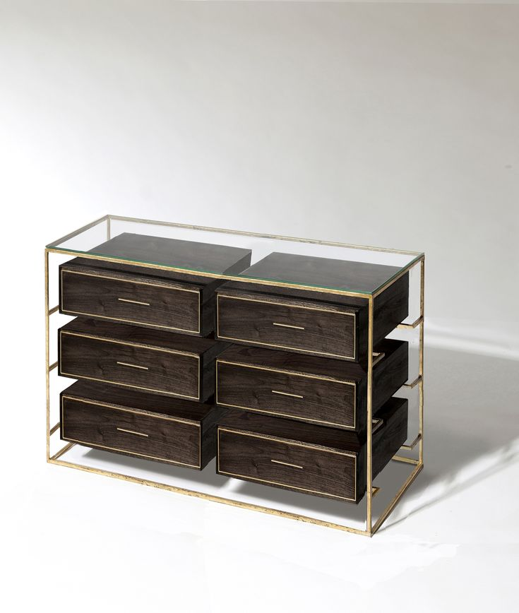 Floating Double Drawer Dresser By Codor Designs Console