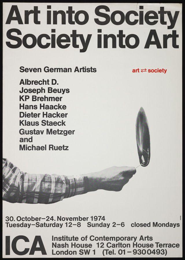 Art into Society Society into Art