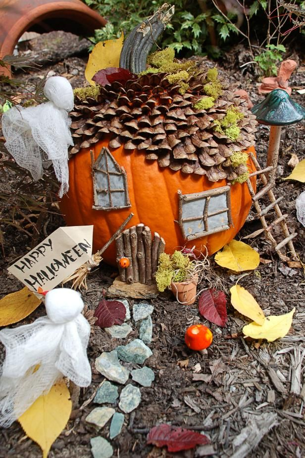 HGTV Gardens shows you how to create a spooky addition to your fairy house this…