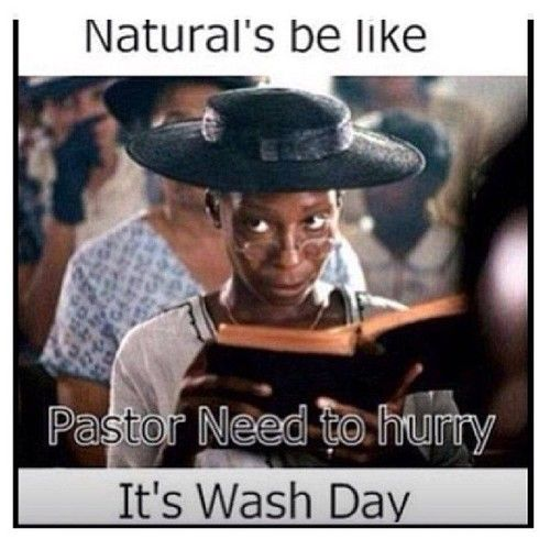 Natural Hair Color Purple Meme