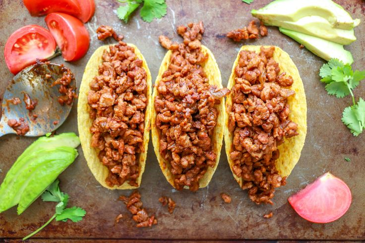 TVP TACOS - Do you know how to prepare textured vegetable protein (TVP)? Textured Vegetable Protein is made from soybeans. It's an inexpensive and relatively concentrated source of plant-based protein. When rehydrated, TVP has a texture like cooked ground beef. So give it a try. You'll be amazed at how easy it is to prepare, and how delicious it tastes!