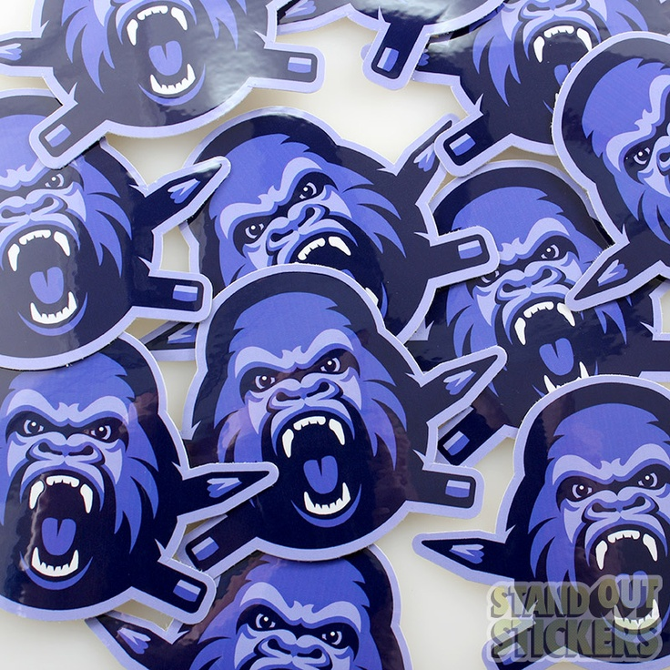 Custom Die Cut Vinyl Stickers for The Clink Room by Brandiose
