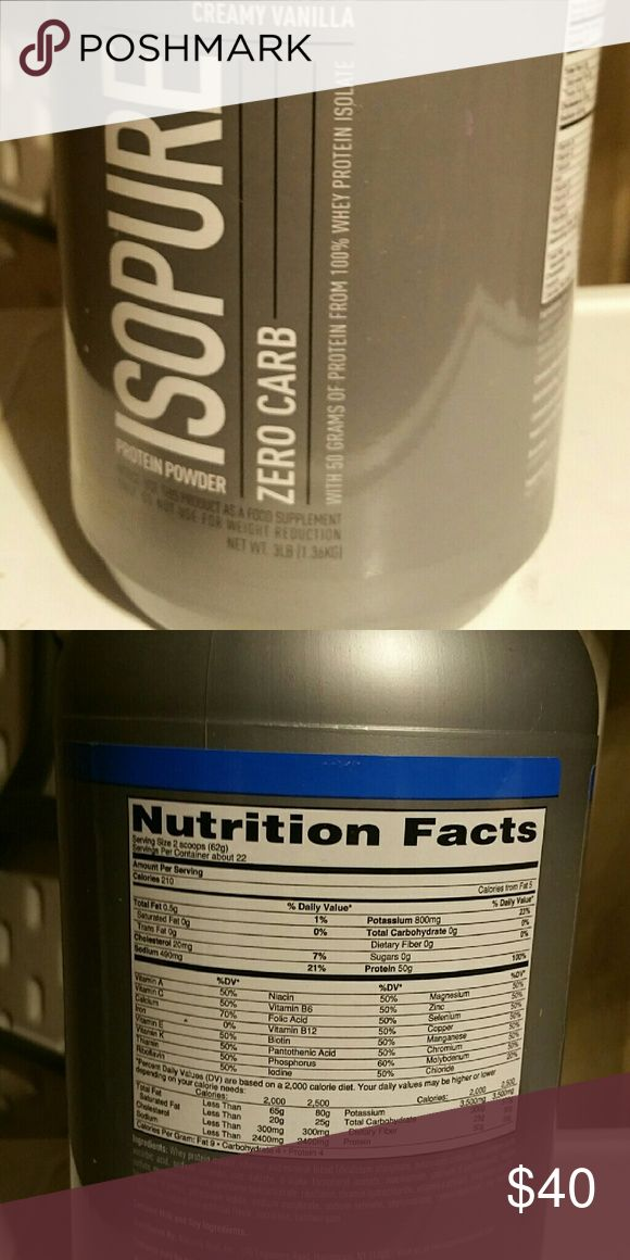 Zero carb isopure diabetes