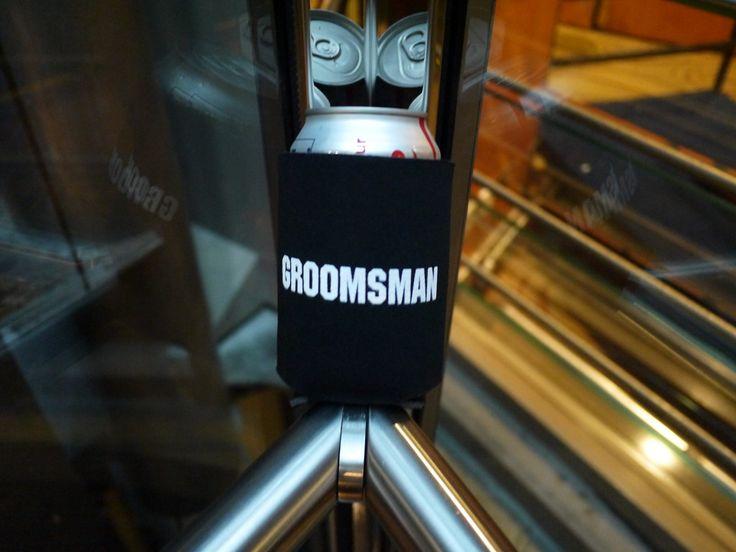 My Groomsman Koozie by Totally Promotional