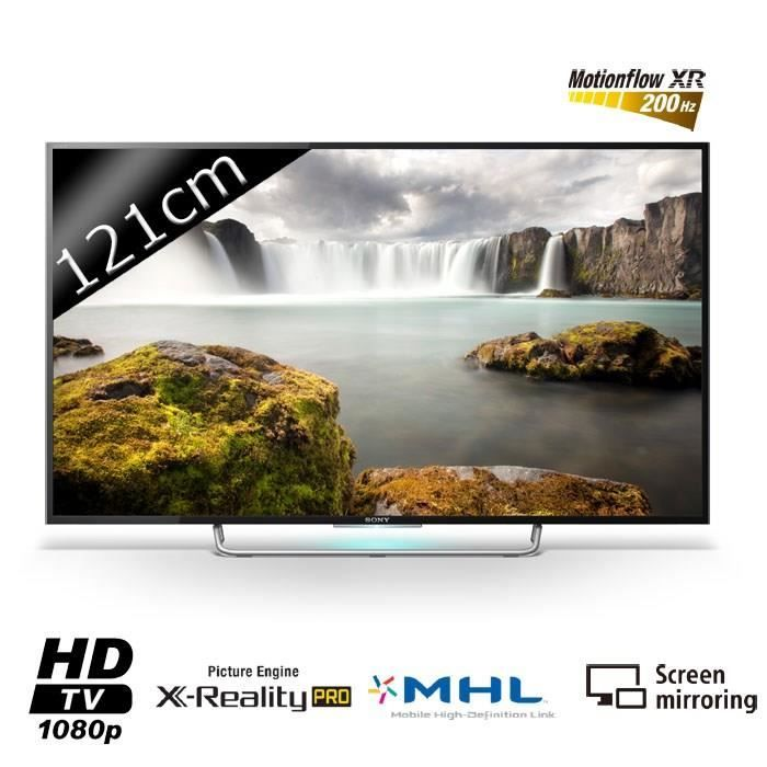 """SONY KDL48W705 Smart TV LED Full HD 121cm (48"""") 20 - téléviseur led, avis et prix pas cher - Cdiscount"""