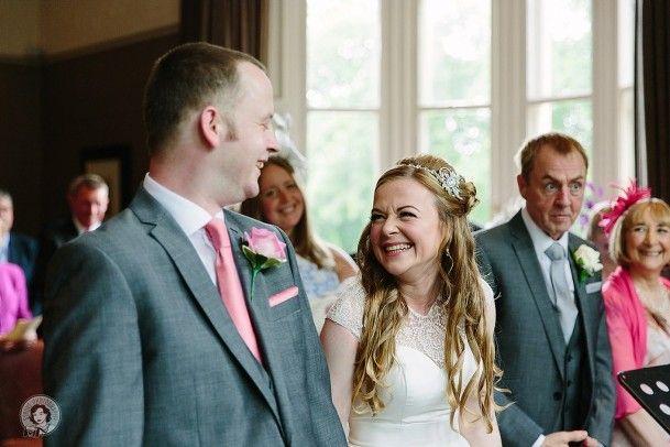 ceremony Wedding One Devonshire Gardens, Glasgow by Struve Photography
