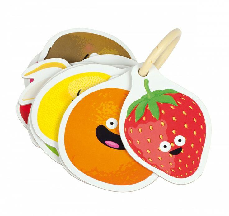 Ανακαλύπτω τα Φρούτα Μυρίζοντας — Janod — Babyglitter
