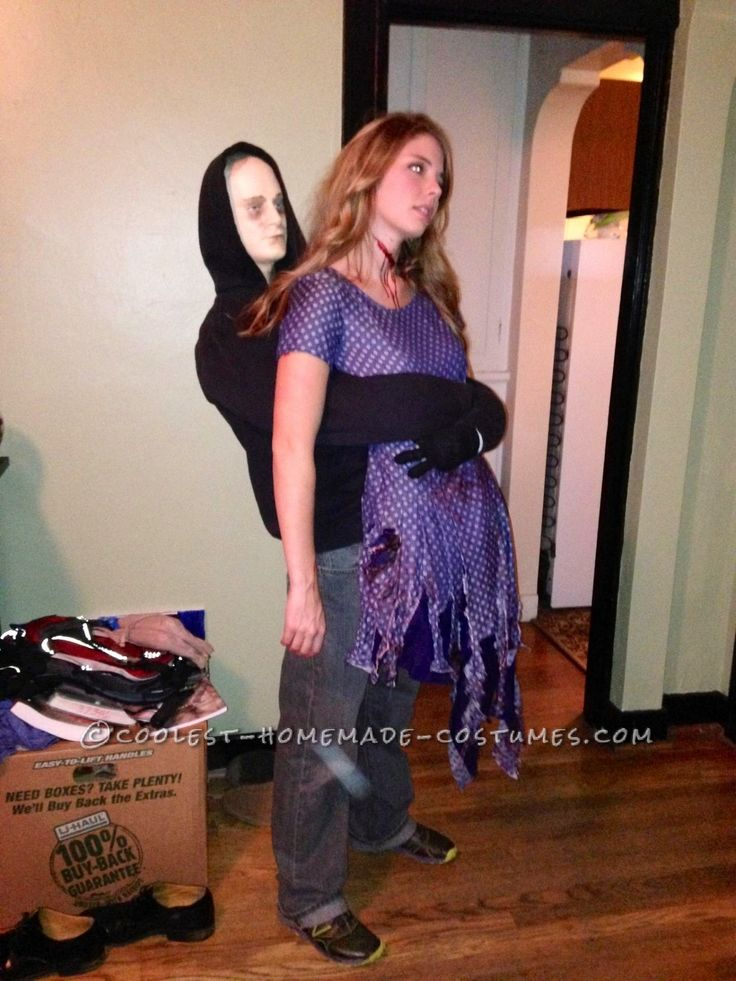 Scary Amputated Legs Illusion Costume... This website is the Pinterest of costumes