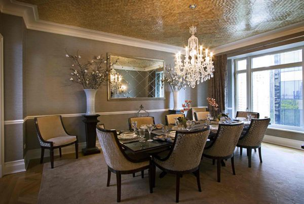 20 Astonishing Dining Room Wall Decors   Home Design Lover