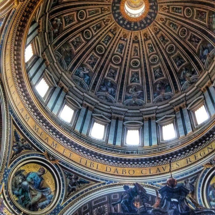 Inside St Peter's Basilica