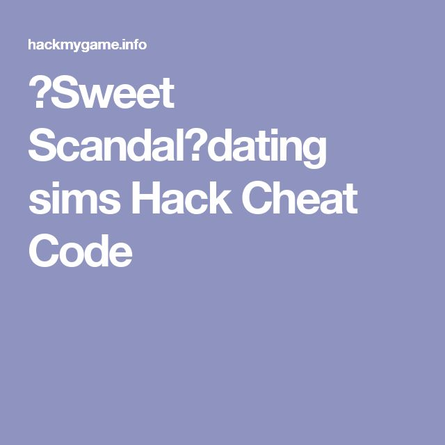 dating sims hacked