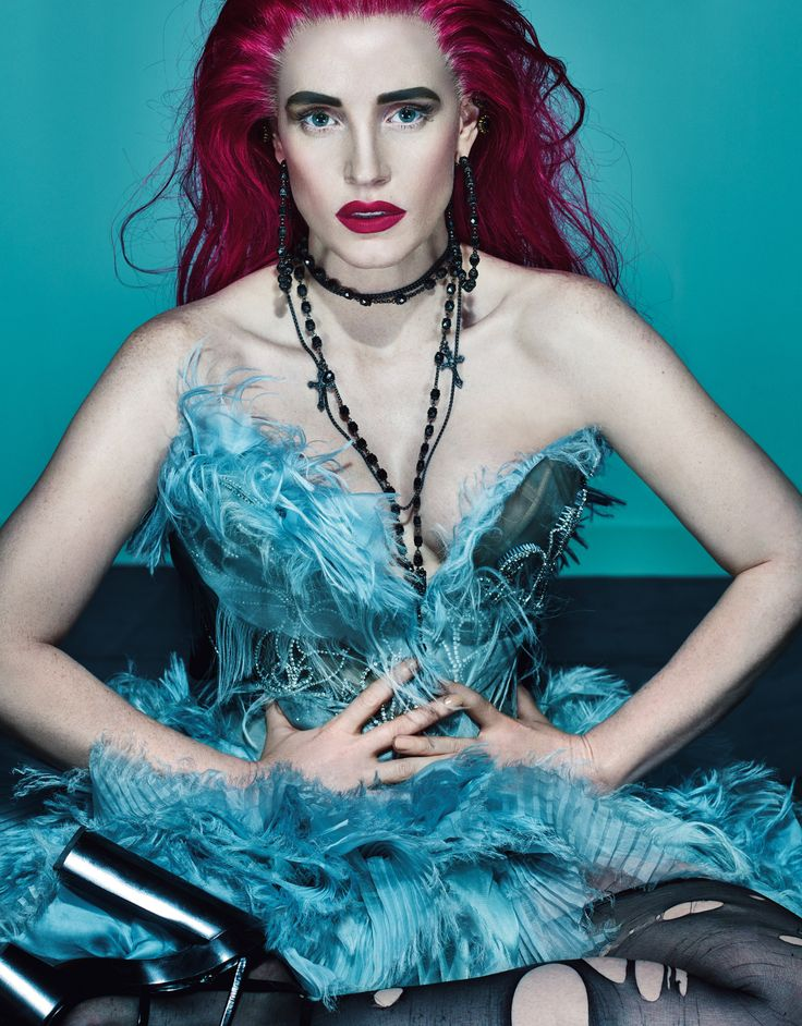Jessica Chastain is not the least bit afraid to change things up. See the full fashion story on wmag.com.