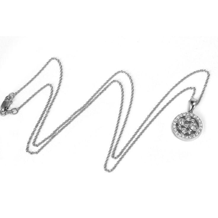 Sonia Bitton 14k Gold 1/2ct TDW Diamond Pendant