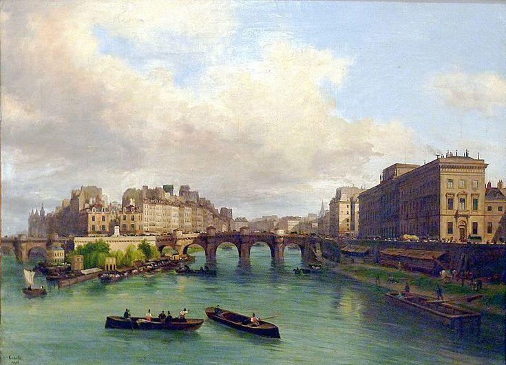 P1140343 Carnavalet Canella le Pont-Neuf la Monnaie le quai de Conti rwk - Rayuela (novela) - Wikipedia, la enciclopedia libre