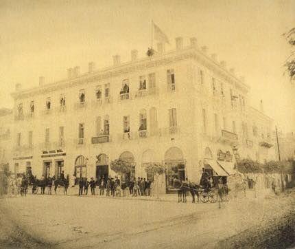 Το ξενοδοχείο Grand Hotel Σταδίου και Κοραή το 1890