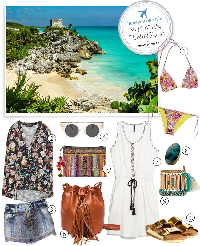 what to pack for a honeymoon in mexico | blog.theknot.com