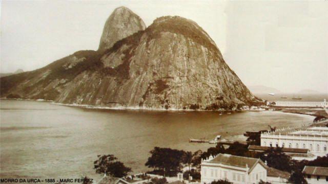 Urca, Rio de Janeiro, 1885, by Marc Ferrez