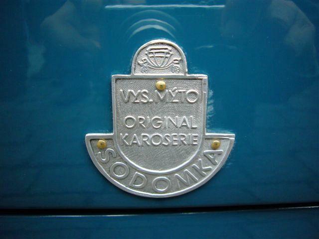 Sodomka Vysoke Myto - coachbuilder badge