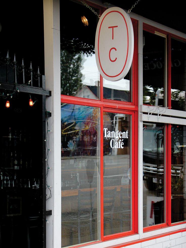 Tangent Café Branding by Fivethousand Fingers