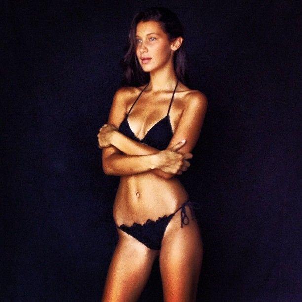 "Isabella ""Bella"" Hadid is a Palestinian-American model"