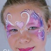 schminkvoorbeelden mooie prinsessen en maskers